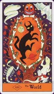 Старшие арканы: Психологические аспекты путешествия. Halloween_world